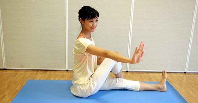 ウエスト引き締め、腰痛に効果的2