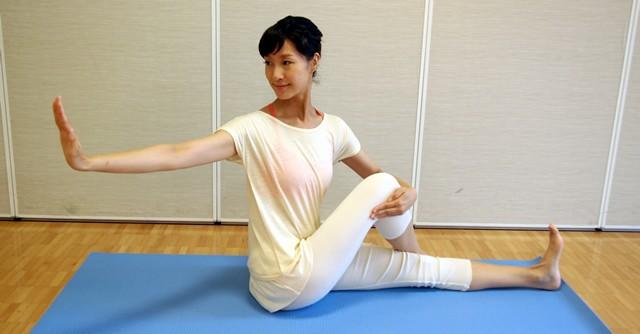 ウエスト引き締め、腰痛に効果的3