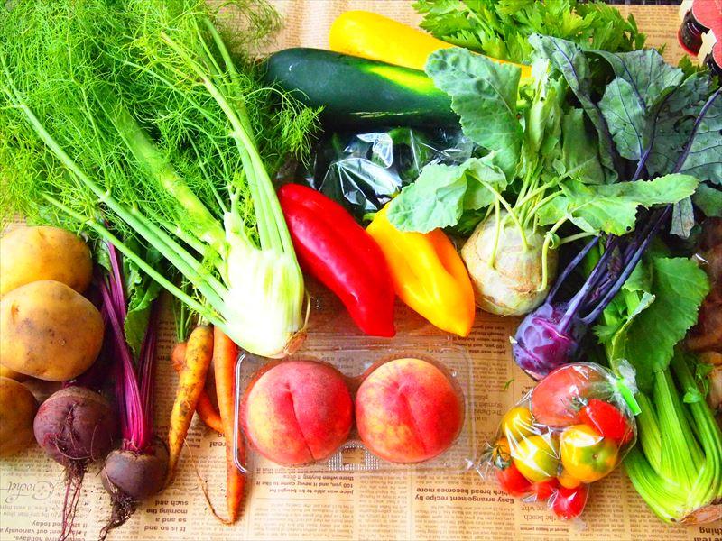 栄養価の高い野菜で健康に