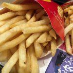 マクドナルドのポテトはカロリーは高いのでダイエット中の人は注意が必要!(S・M・L)